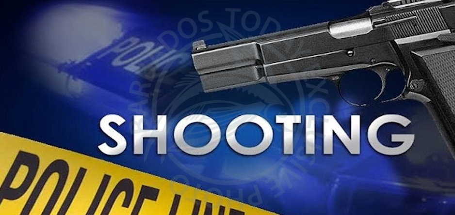 St Philip man nursing gunshot wound